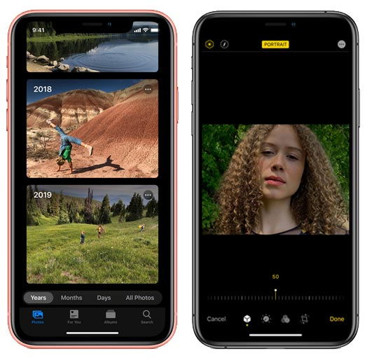 Apple iOS 13 – Features & Changes - Photos