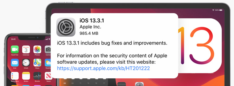 iOS 13.3.1 Update Released