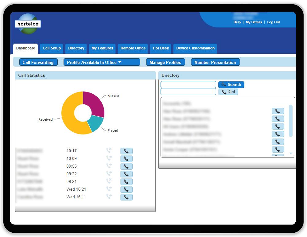 User Web Portal