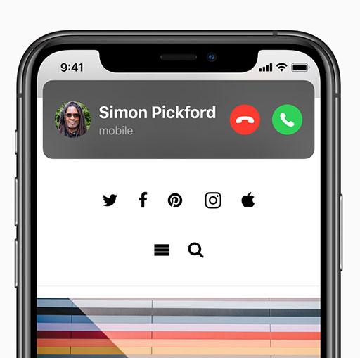 iOS 14 Compact Calls