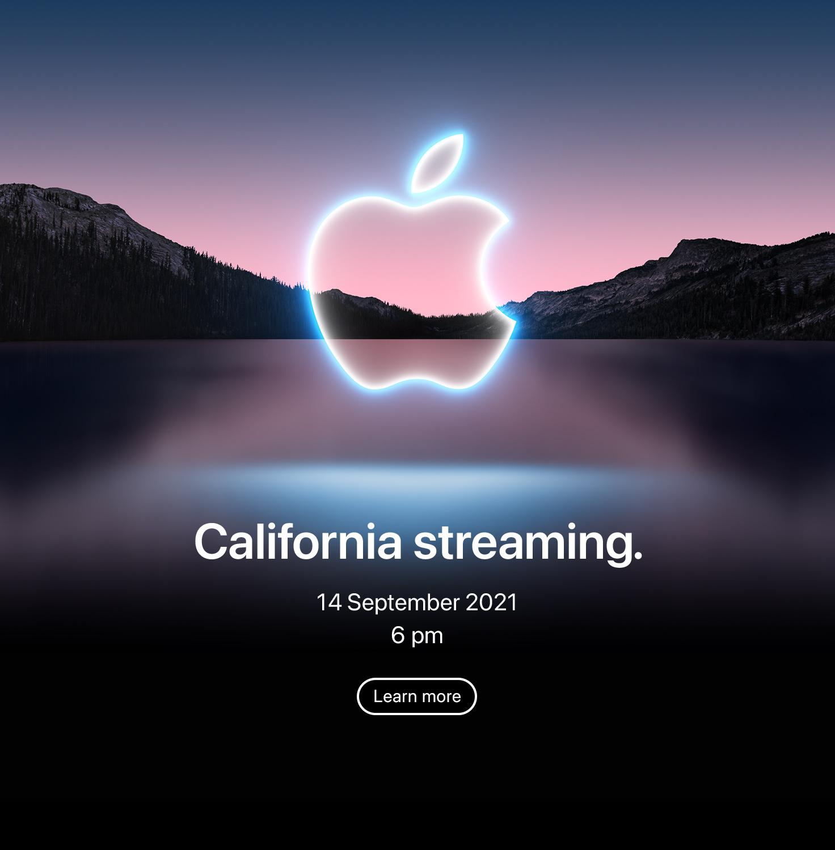 Apple September 2021 announcement